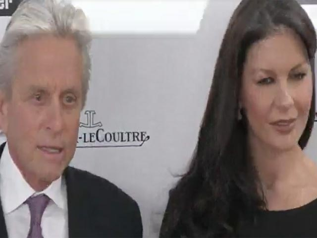 Michael Douglas And Catherine Zeta-Jones Hold Hands At 41st Annual Chaplin Award Gala - Part 1