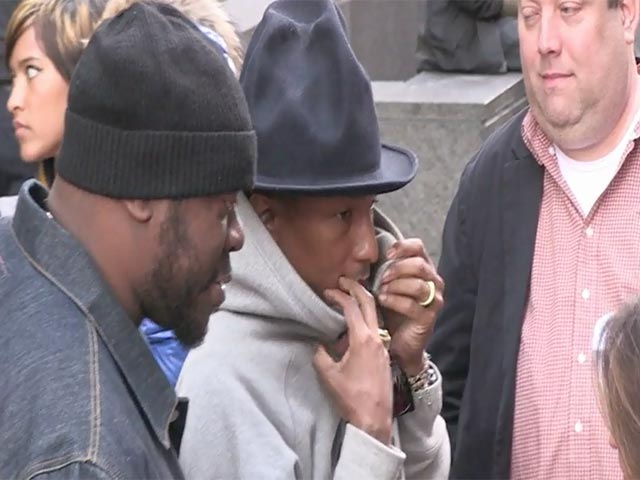 Pharrell Takes His Hat To 'The Amazing Spider-Man 2' NY Premiere - Part 3
