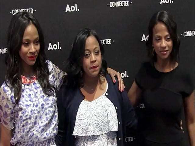 Zoe Saldana And Nicole Richie Makes Appearances At The 2014 AOL NewFront - Part 2