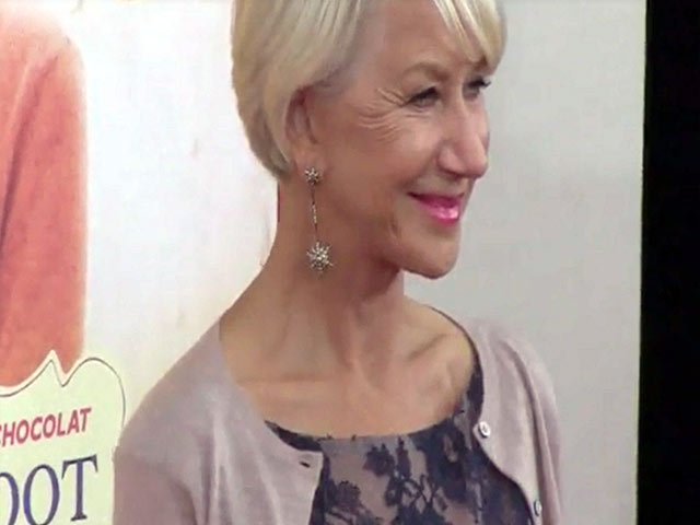 Helen Mirren Looks Picture Perfect In Blue Lace At 'The Hundred-Foot Journey' NY Premiere - Part 3