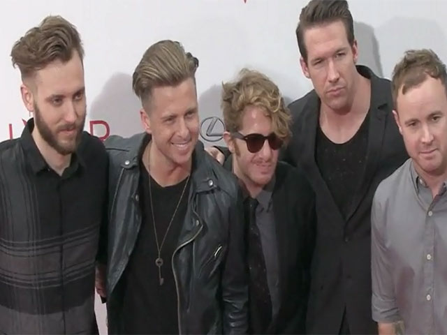 OneRepublic Hit The Red Carpet At The NY Premiere Of 'The Giver' - Part 1