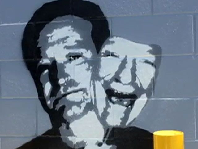 Robin Williams LA Tribute Art Aims To Raise Awareness About Depression