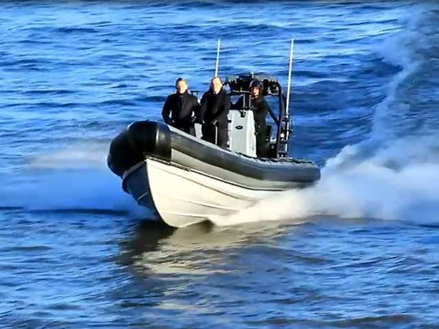 Daniel Craig And Rory Kinnear Board A Speedboat On The Set Of 'Spectre' - Part 2