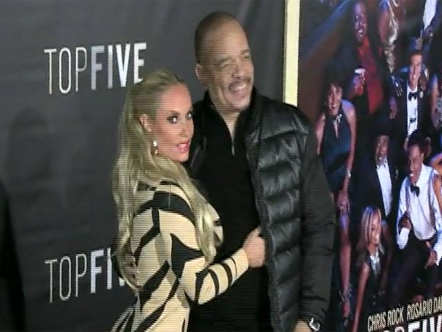 Ice-T And Coco Austin Hit The NY Premiere Of 'Top Five' - Part 4