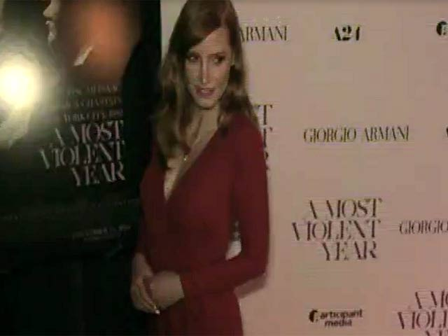 Jessica Chastain Teams Her Red Locks With A Red Gown At 'A Most Violent Year' NY Premiere - Part 2