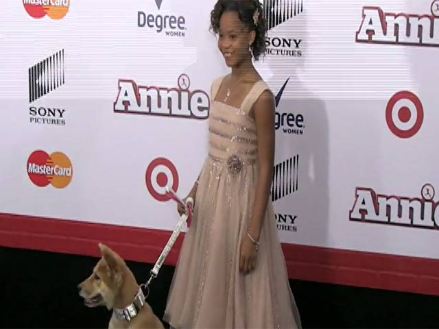 Quvenzhane Wallis Sparkles In Pink At 'Annie' NY Premiere - Part 2
