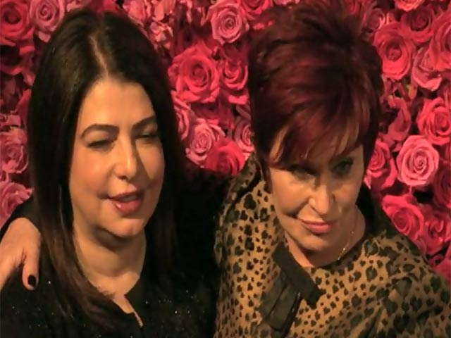 Sharon Osbourne And Aretha Franklin Were Among Arrivals At 2014 Billboard Women In Music Luncheon - Part 1