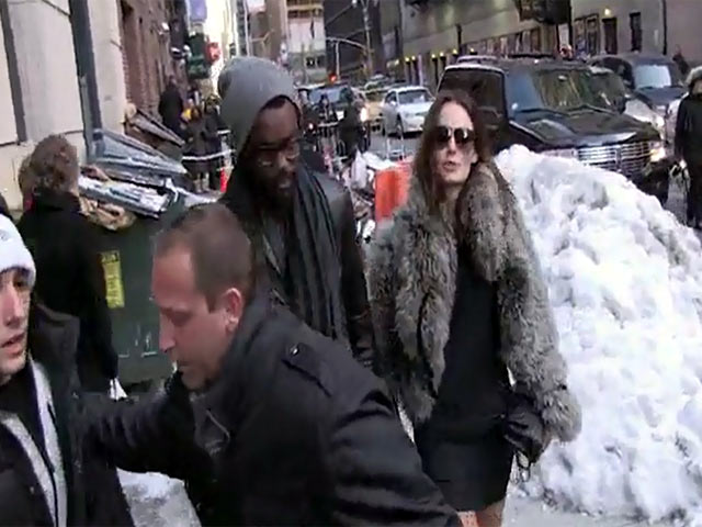 Gary Clark, Jr. And His Girl Nicole Trunfio Are Mobbed By Paps In New York