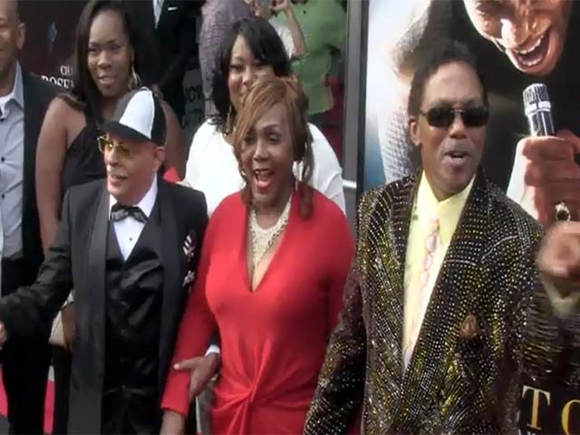 Bobby Byrd Brings Family To 'Get On Up' NY Premiere - Part 1
