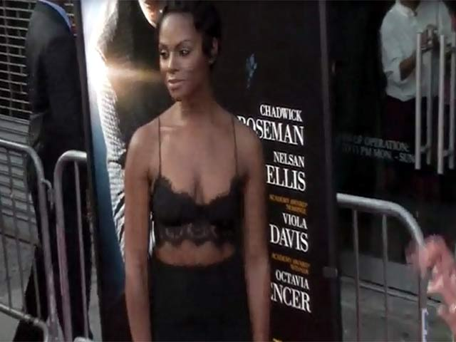 'Get On Up' Star Tika Sumpter Looking Glamorous At The NY Premiere - Part 4