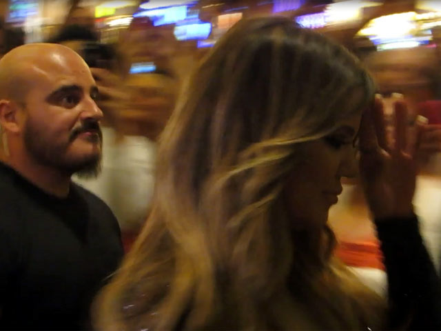 Khloe Kardashian Waves At Fans As She Arrives For Birthday Celebrations In Vegas