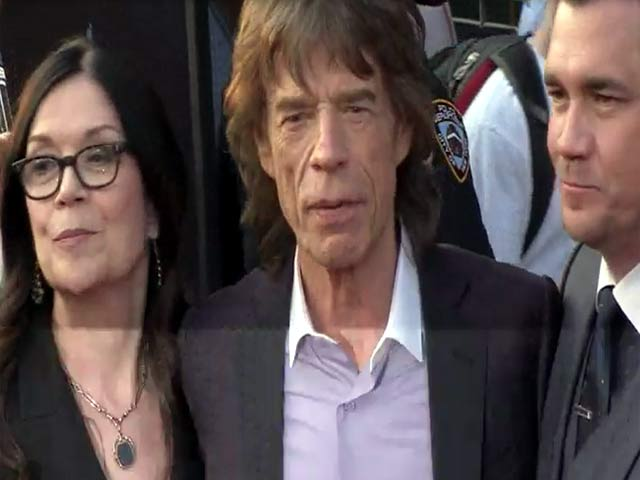 Mick Jagger Spotted Among 'Get On Up' Production Crew At The NY Premiere - Part 2