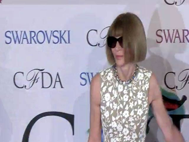 Anna Wintour Tones It Down At The 2014 CFDA Fashion Awards - Part 6