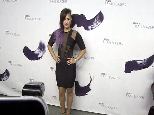 Demi Lovato Goes All Rock Chick For LOGO TV's Trailblazers Event - Part 2