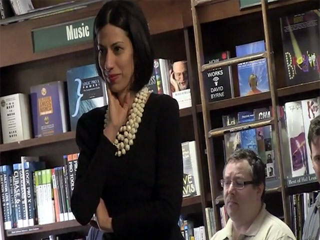 Huma Abedin Weiner Supports Hillary Clinton At Book Signing In New York