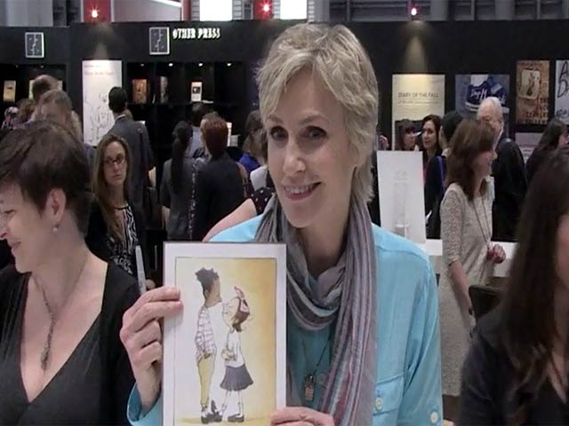 Jane Lynch Signs Copies Of 'Marlene, Marlene, Queen Of Mean' At Book Expo America 2014