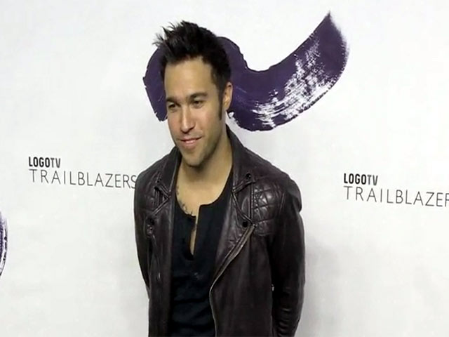 Pete Wentz Makes An Appearance At LOGO TV's First Trailblazers - Part 1