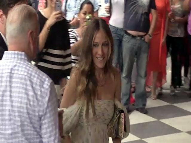 Sarah Jessica Parker And Matt Bomer Among Star Arrivals At 2014 AmfAR Gala