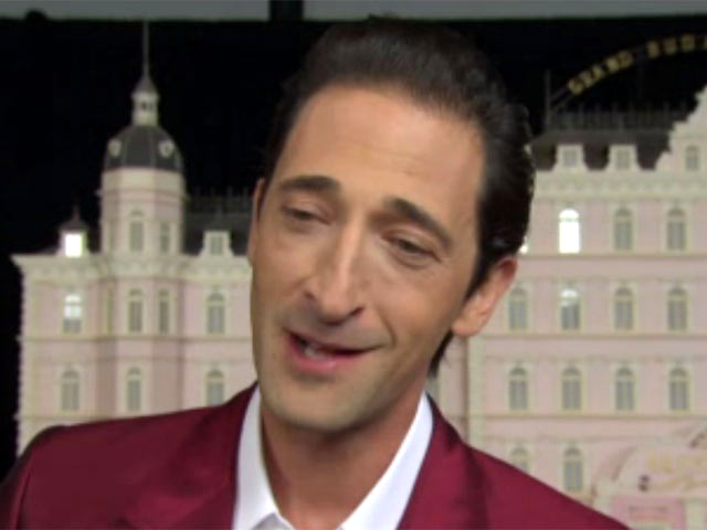 Adrien Brody Praises Director Wes Anderson At 'The Grand Budapest Hotel' Premiere