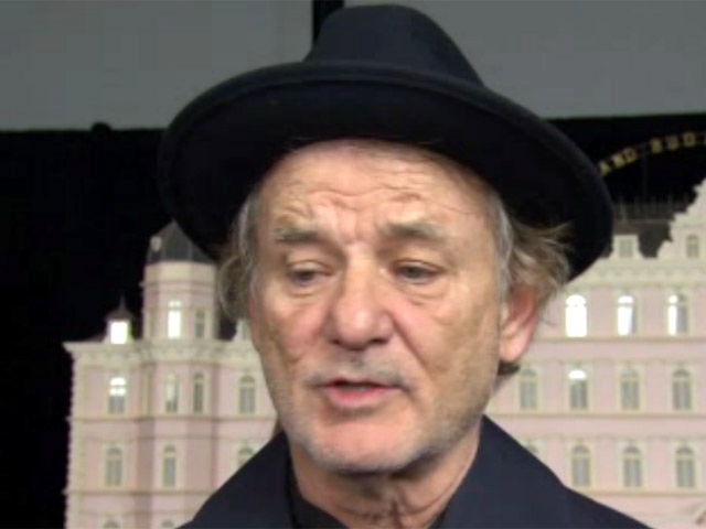 Bill Murray Reminds Us Of The 'Bigger Picture' At 'The Grand Budapest Hotel' Premiere