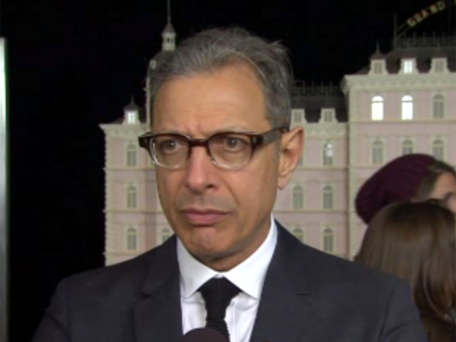 Jeff Goldblum Goes Adjective Crazy In A Red Carpet Interview At 'The Grand Budapest Hotel' Premiere