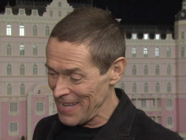 Willem Dafoe Says He Had A Lot Of Fun On 'The Grand Budapest Hotel' Set At The Premiere