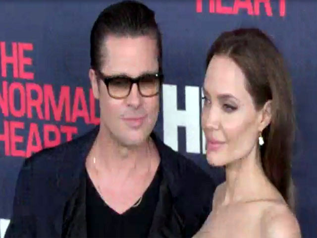 Angelina Jolie And Brad Pitt Turn Heads At 'The Normal Heart' NY Premiere