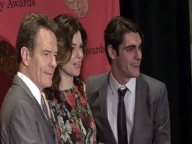 Bryan Cranston Is Joined By 'Breaking Bad' Co-Stars At 2014 Peabody Awards - Part 1