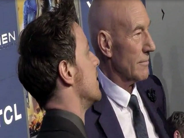 James McAvoy And Patrick Stewart Re-Unite At The 'X-Men: Days Of Future Past' World Premiere - Part 3