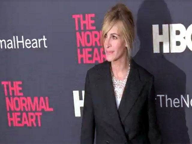 Julia Roberts Spotted At 'The Normal Heart' NY Premiere