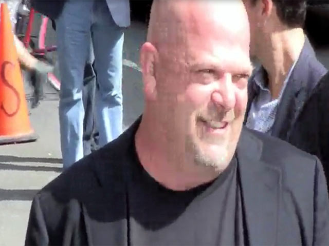 Rick Harrison Values Pap Cameras As 'Priceless' Outside 'Letterman'