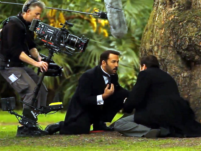 A Scene From The Upcoming Third Series Of 'Mr Selfridge' Is Played Out By Jeremy Piven and Gregory Fitoussi - Part 2
