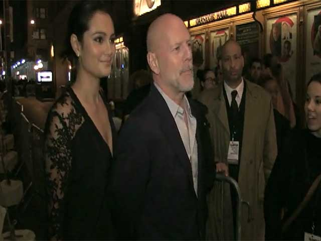 Bruce Willis And Emma Heming Are Star Guests At The 2014 Glamour Women of the Year Awards - Part 3