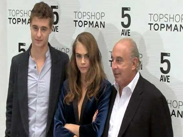 Cara Delevingne And Max Irons Count Down To Topshop Topman Opening In New York