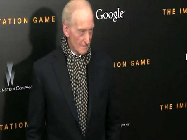 Sir Charles Dance And Matthew Goode Pose Arriving At 'The Imitation Game' Première - Part 2