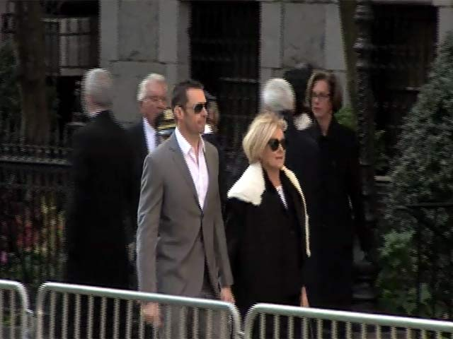 Hugh Jackman Pays His Respects At Oscar De La Renta's Funeral - Part 2