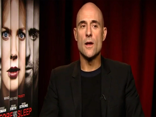 Mark Strong Discusses 'Before I Go To Sleep' And Addresses Bond Villain Rumours