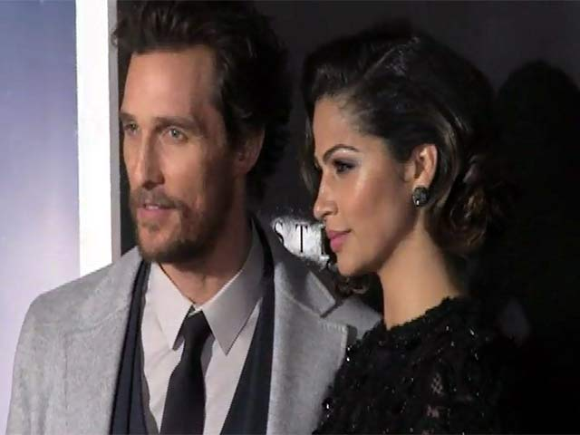 Matthew McConaughey Leads Arrivals At 'Interstellar' NY Premiere - Part 1