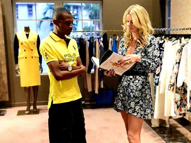 Nicky Hilton Greets Male Fan At '365 Style' Book Signing - Part 1