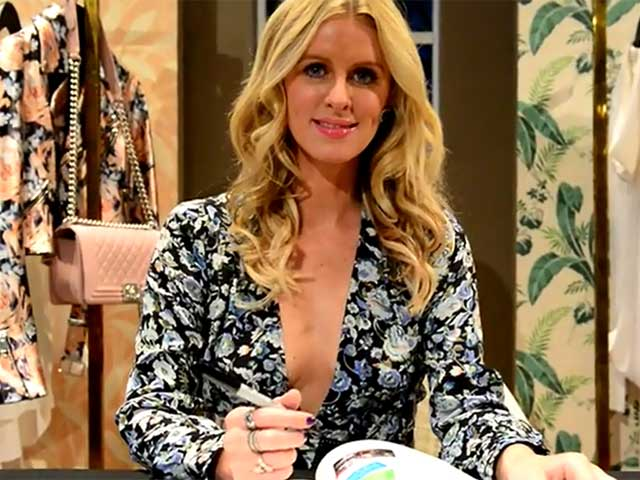 Nicky Hilton Poses With Her Book '365 Style' At A Signing - Part 2