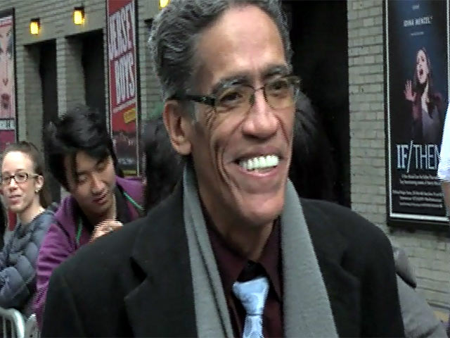 Ted Williams, 'The Man With The Golden Voice', Appears Before Going On 'David Letterman'