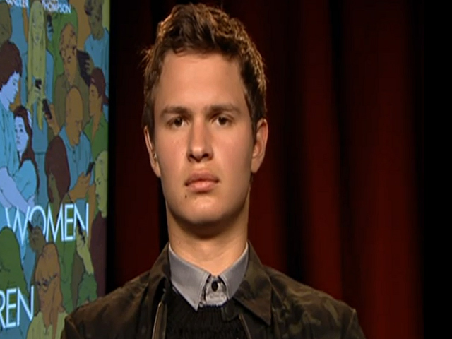 Ansel Elgort Discusses Hacking In An Interview For 'Men, Women & Children'