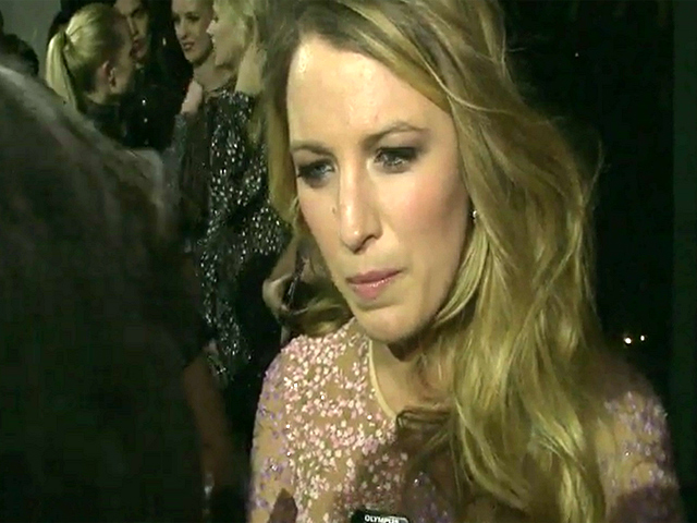Blake Lively Talks Beauty At 2014 GLWD Golden Heart Awards - Part 4
