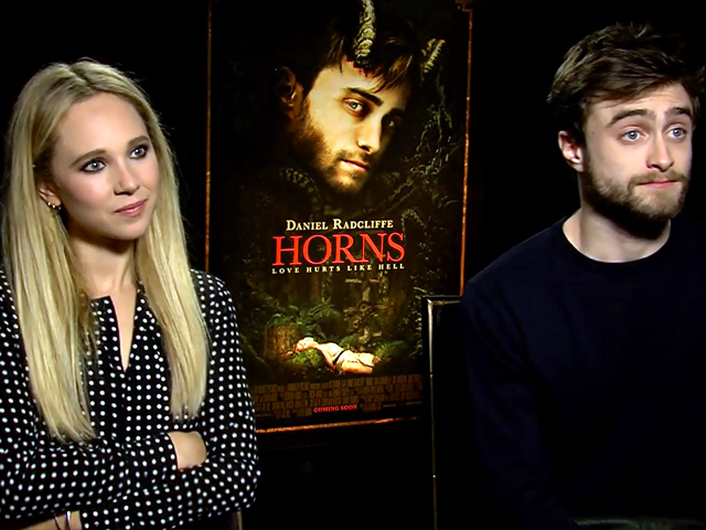 Daniel Radcliffe And Juno Temple Talk Sex Scenes And Snakes In An Interview For New Movie 'Horns'