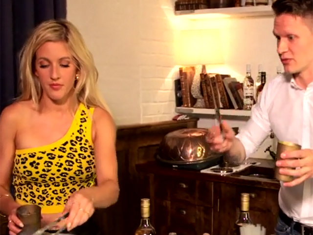 Ellie Goulding Talks About Her Bacardi Triangle Gig As She Creates Her First Cuba Libre Cocktail