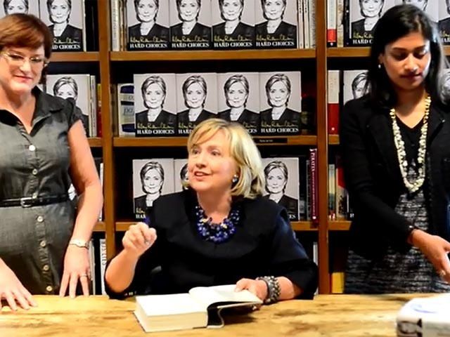 Hillary Clinton Opens Book Signing Of New Memoirs 'Hard Choices'