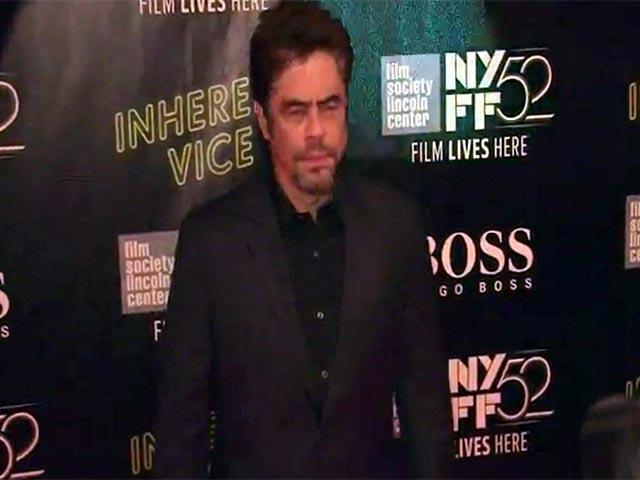 Josh Brolin And Benicio del Toro Greet Each Other At The New York Film Festival Premiere Of 'Inherent Vice' - Part 1