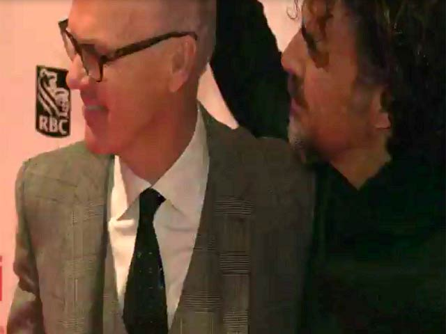 Michael Keaton, Edward Norton and the cast of 'Birdman' appear at the 52nd NYFF