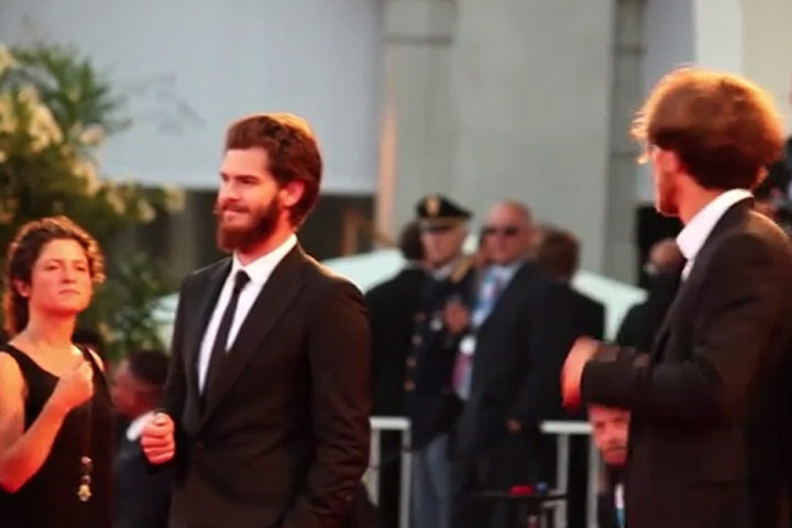 Andrew Garfield And Michael Shannon At The '99 Homes' Premiere At Venice Film Festival