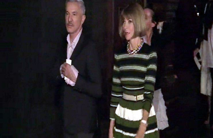 Anna Wintour Among Guests At The Marc Jacobs Spring 2015 Show During New York Fashion Week